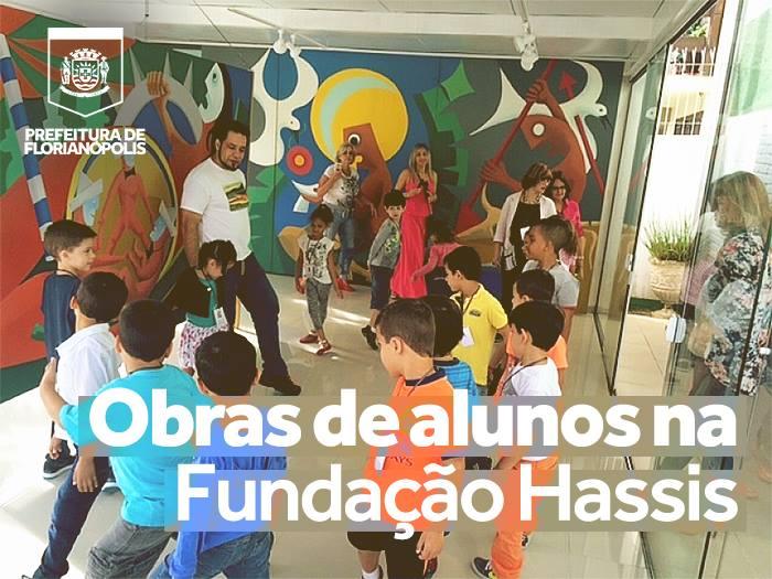 Alunos da rede municipal expõem suas obras na Fundação Hassis
