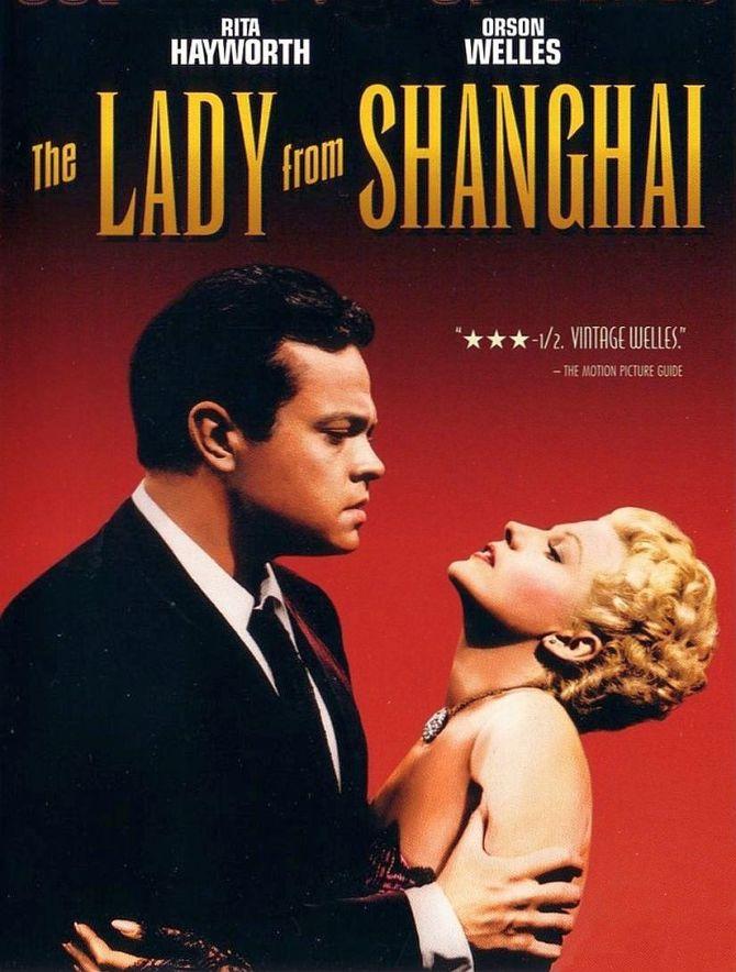 """Cineclube Badesc exibe """"A Dama de Shanghai"""" (1947) de Orson Welles"""
