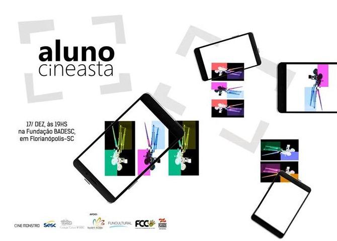 Cineclube Badesc exibe curtas da Mostra do Projeto Aluno Cineasta
