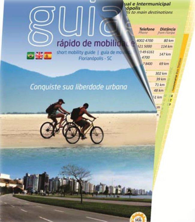 Lançamento da 7ª Edição do Guia Rápido de Mobilidade de Florianópolis