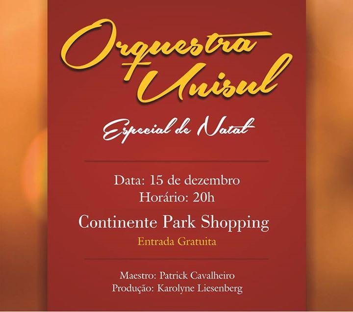 Concerto de Natal da Orquestra Unisul