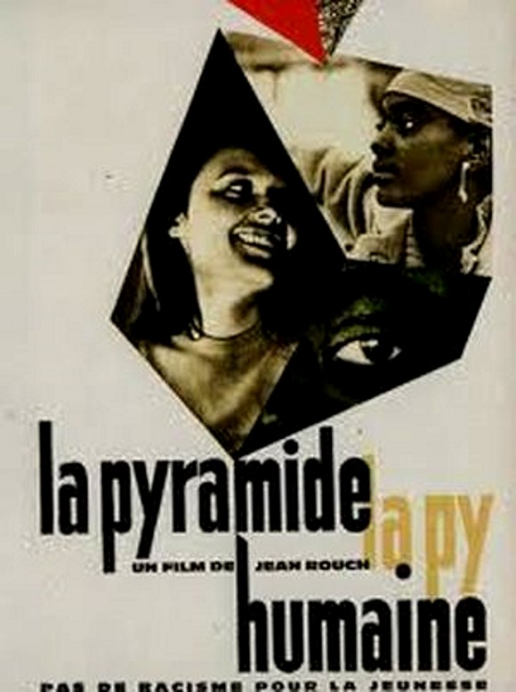 "Cineclube Badesc exibe ""A pirâmide humana"" (1961) de Jean Rouch"