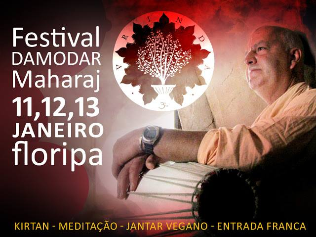 Festival Inspirador com Maharaj Damodar