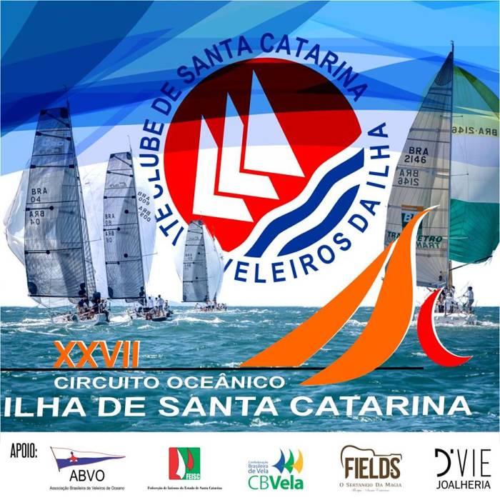 27º Circuito Oceânico da Ilha de Santa Catarina, com melhores velejadores do país