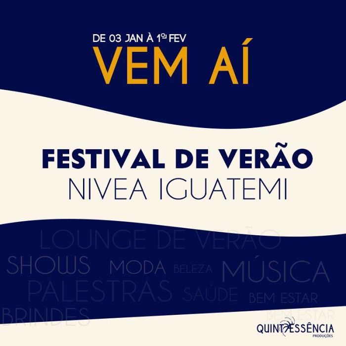 Festival de Verão Nívea Iguatemi