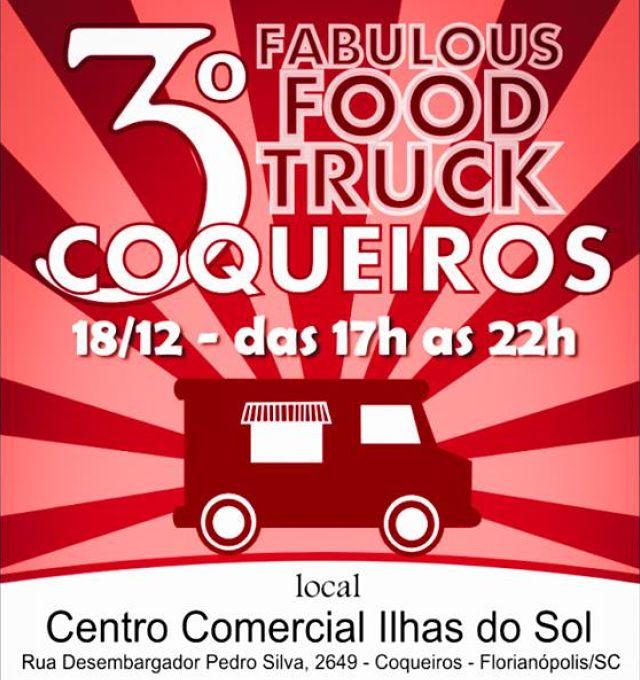 3ª edição do Fabulous Food Truck Coqueiros