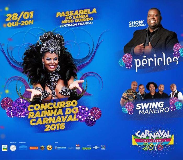 Concurso Rainha do Carnaval Florianópolis 2016