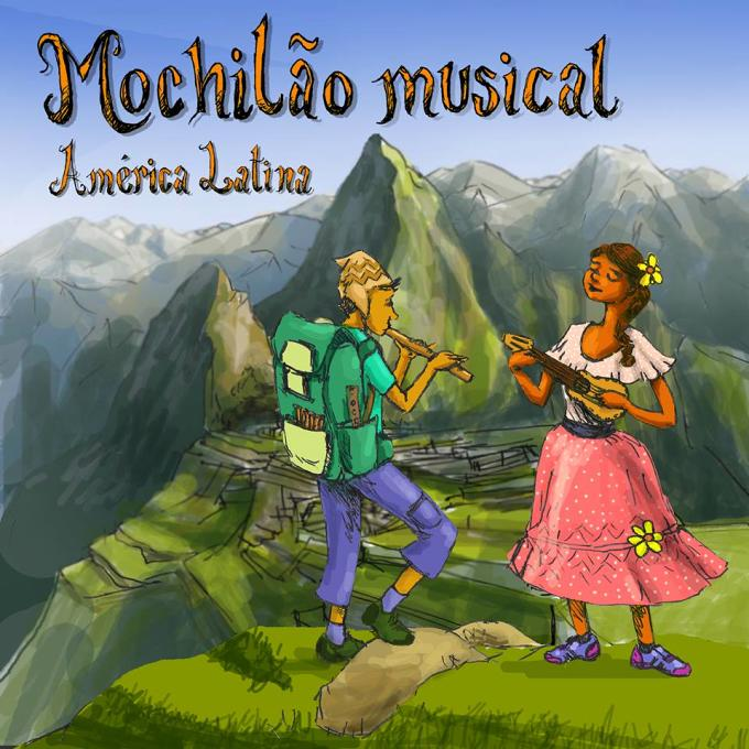 """Lançamento do CD """"Mochilão Musical"""" da Oficina de música infantil da Udesc"""