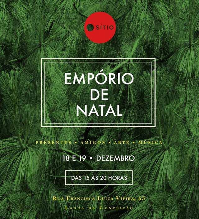 Empório de Natal no Sítio - arte, moda, música e gastronomia