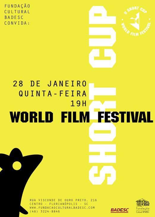 Amistoso ShortCup Film Festival no Cineclube Badesc