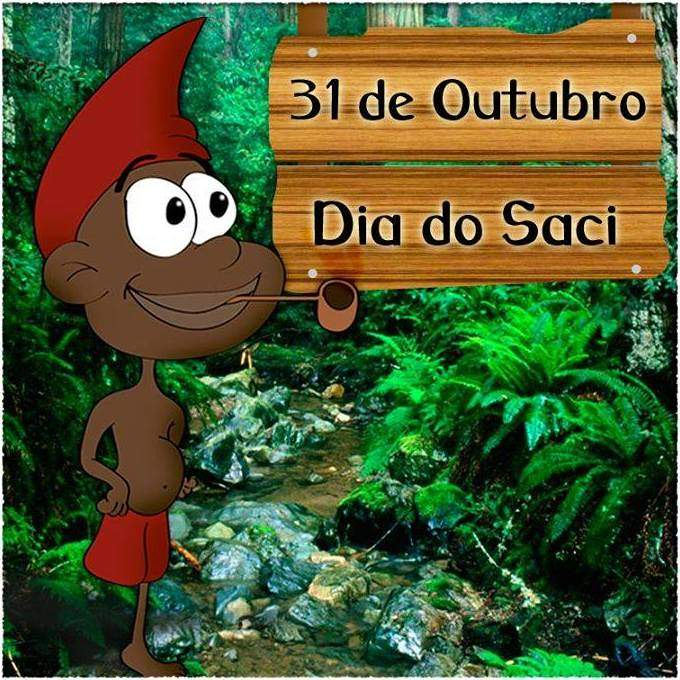 "Espetáculo ""As travessuras do Saci Pererê"", de Valdir Dutra"