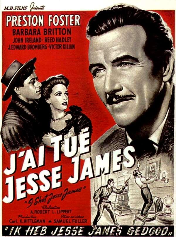 "Cineclube Badesc exibe ""Eu Matei Jesse James"" (I Shot Jesse James) de Samuel Fuller"