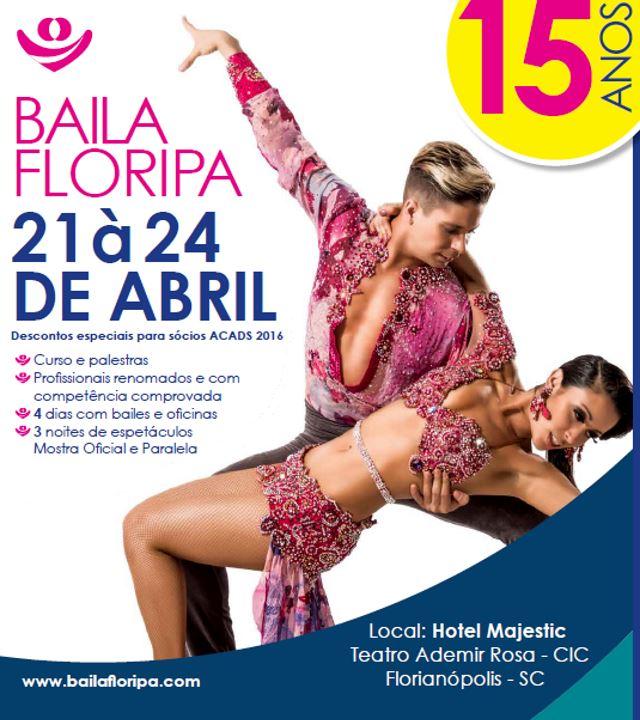 15ª Mostra de Danças de Salão de Florianópolis - Baila Floripa 2016