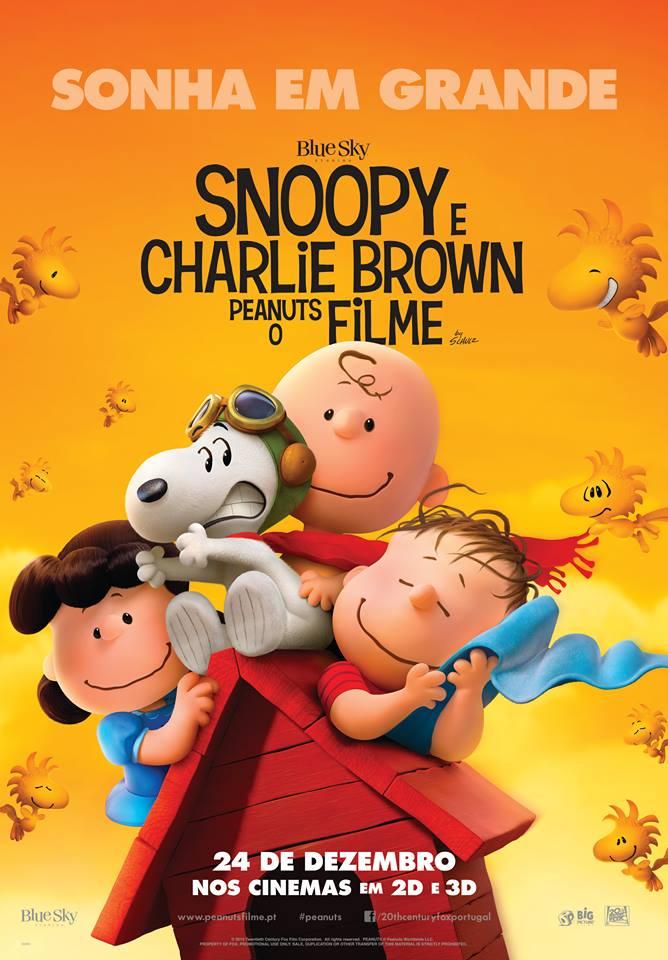 """Sessão gratuita de """"Snoopy e Charlie Brown - Peanuts, O Filme"""" no Sábado Animado"""