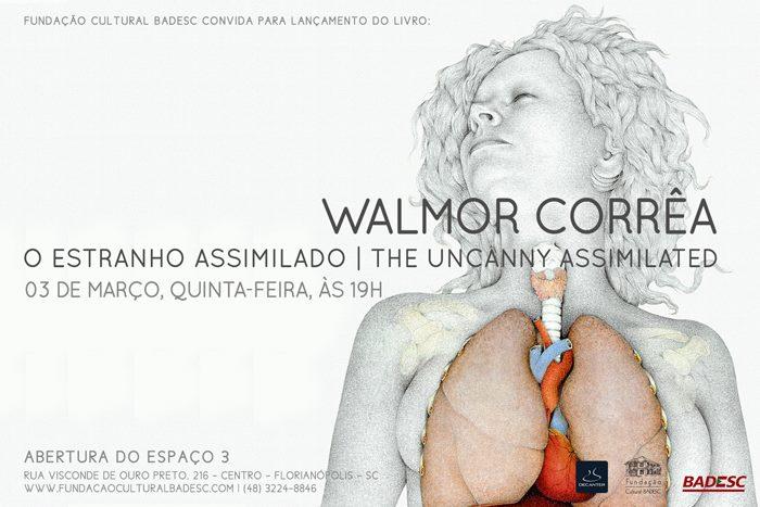 Walmor Corrêa lança livro, Caixa Especial e inaugura Espaço 3 na Fundação Badesc