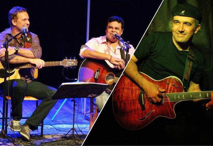 Dois shows gratuitos com Doctor Duo e Jack & Ruy no final de semana