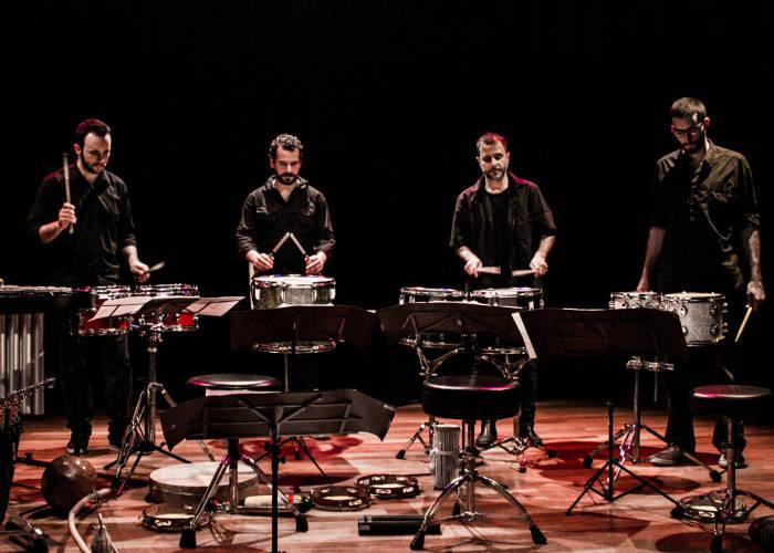 Show do Grupo Livre de Percussão GLiP e convidados no projeto TAC 7:30