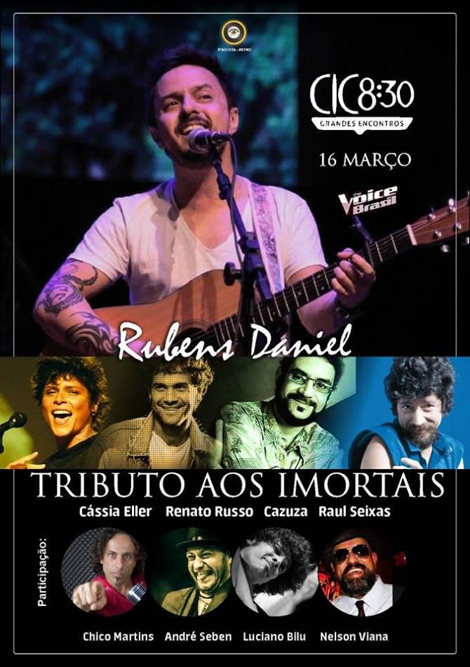 CIC 8:30 abre 2016 com homenagem a Cazuza, Cássia Eller, Raul Seixas e Renato Russo