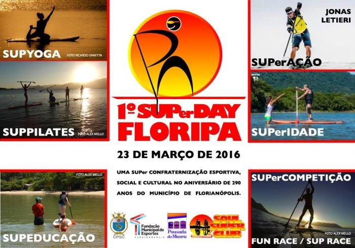 1º SUPer Day Floripa em comemoração ao aniversário de Florianópolis
