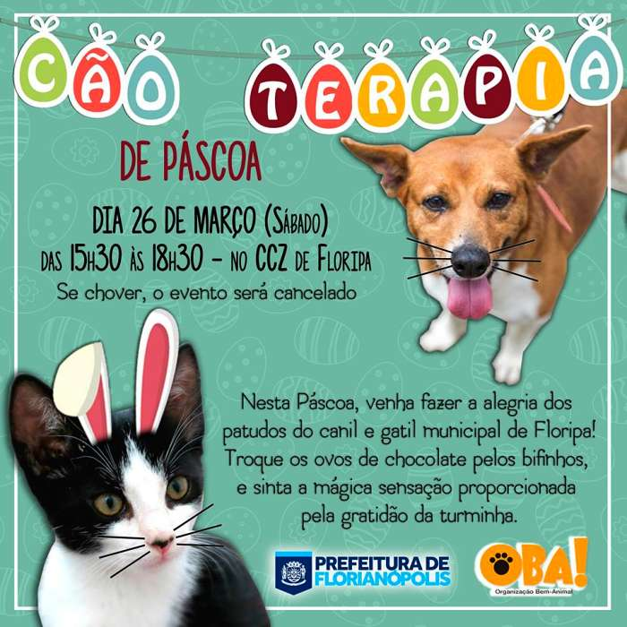 Cão Terapia de Páscoa 2016
