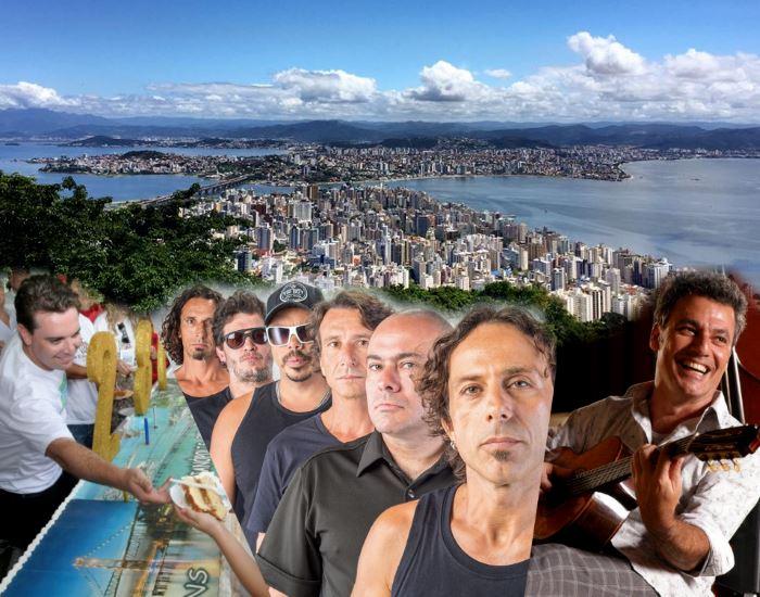 Aniversário de Florianópolis terá shows, food trucks, corte do bolo e ônibus gratuito