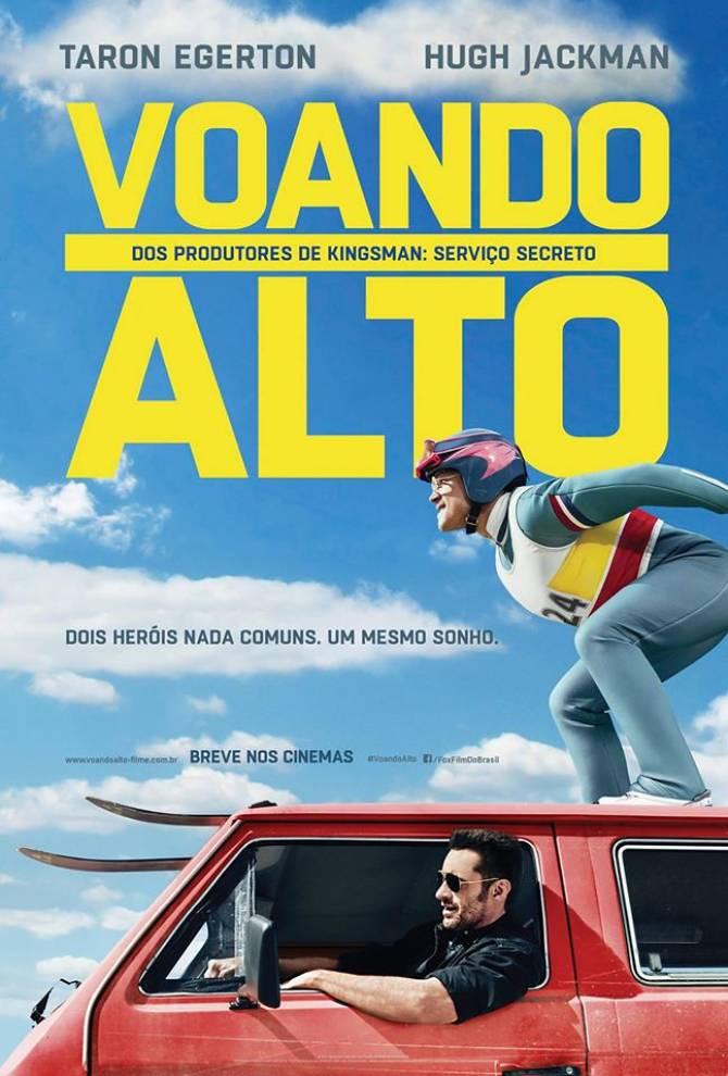 """Filme """"Voando Alto"""" (2016) de graça para idosos na 3ª Sessão Sênior de Cinema"""
