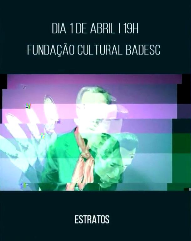 """Lançamento do documentário """"Estratos Sonoros"""" de Filipe Maliska no Cineclube Badesc"""