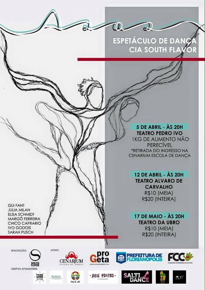"""Espetáculo de danças urbanas """"Asas"""" da Cia South Flavor"""