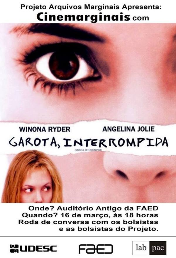 "Sessão gratuita do filme ""Garota, Interrompida"" de James Mangold"