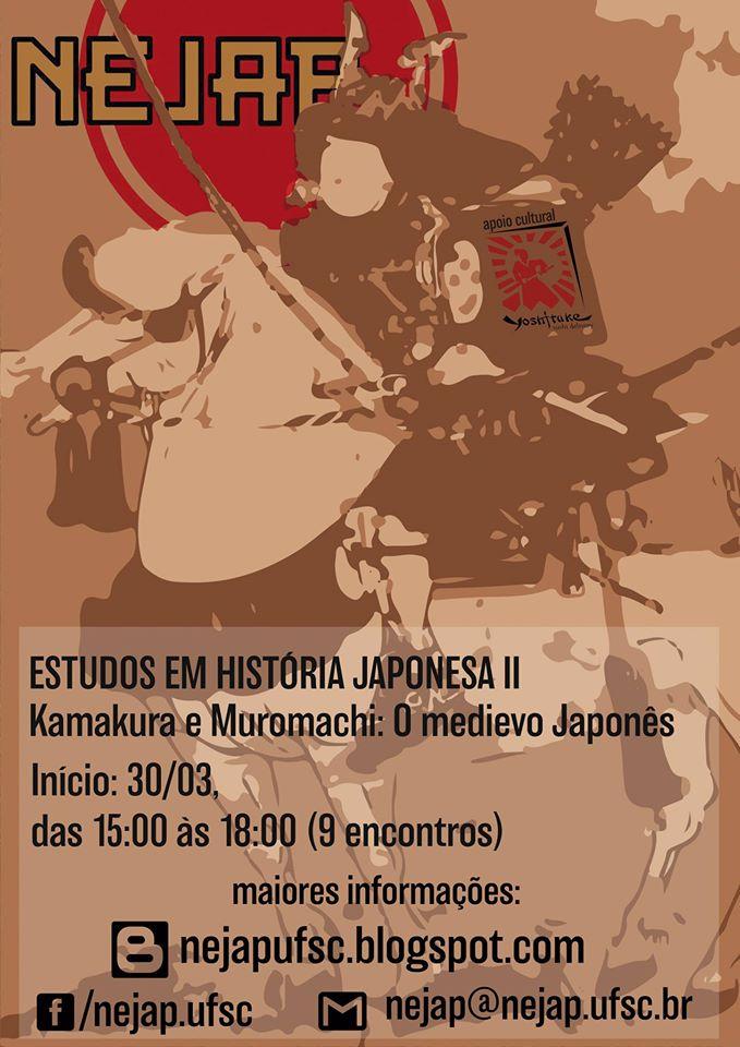 Inscrições para segundo curso de Estudos em História Japonesa