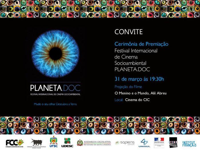 Cinema do CIC exibe gratuitamente os filmes vencedores do Festival Planeta.doc