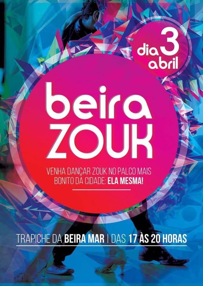 2ª edição do BEIRA-ZOUK - baile de dança à céu aberto na Beira Mar