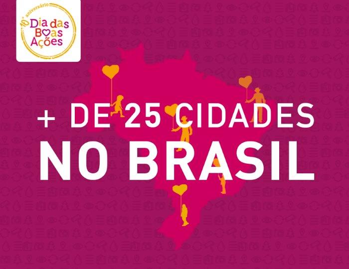 Dia das Boas Ações em Florianópolis