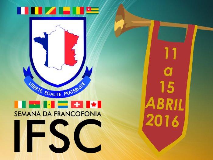 II Semana da Francofonia do IFSC com exposição, música, palestras e cinema francês