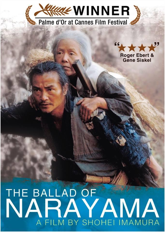 """Cineclube Badesc exibe """"A Balada de Narayama"""" (1983) de Shôhei Imamura"""