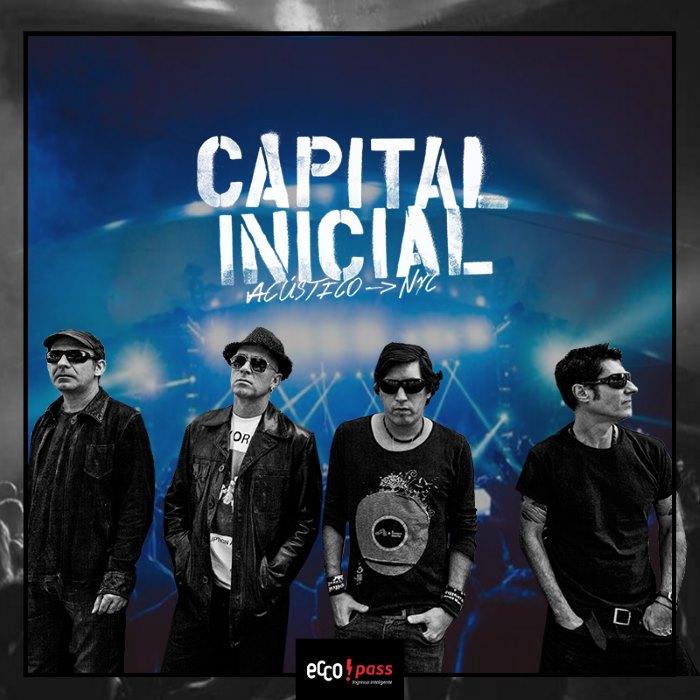 Show da banda Capital Inicial Acústico NYC