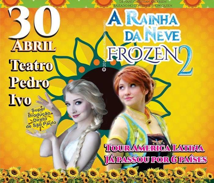 """Espetáculo """"A Rainha da Neve – Frozen 2 - The Live Musical"""""""