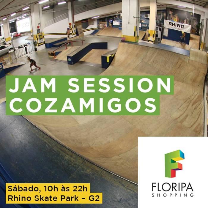 """Jam Session de Skate """"Cozamigos"""" comemora o Dia do Amigo"""
