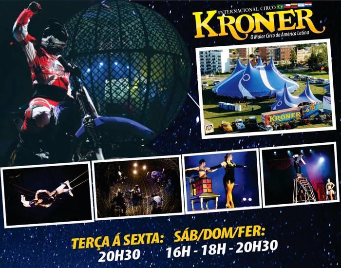 Internacional Circo Kroner apresenta temporada com mais de 20 atrações e espetáculos exclusivos