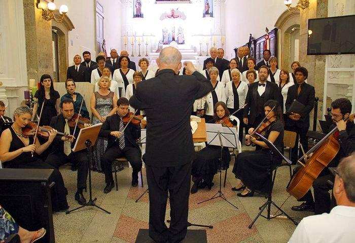 Coral Santa Cecília faz concerto em homenagem a Carlos Gomes no CIC 8:30