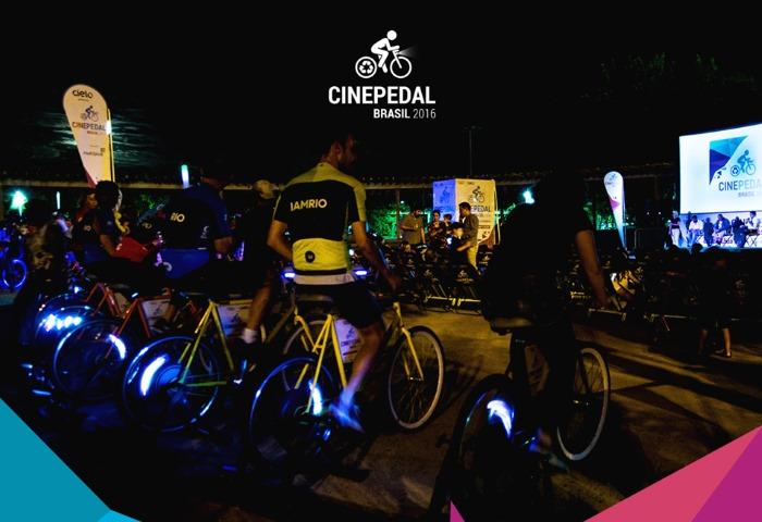 1º Cine Pedal Brasil exibe filmes projetados com energia gerada por bicicletas