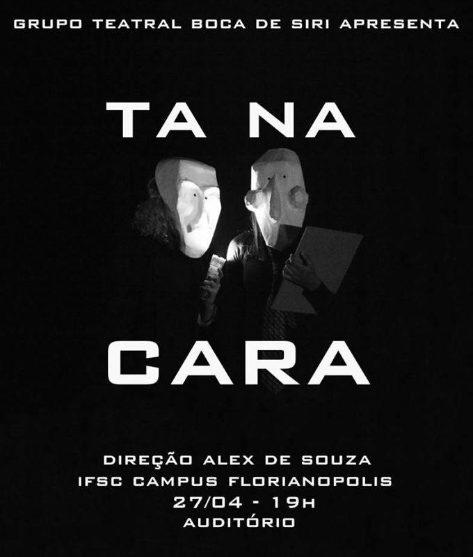 "Espetáculo ""Tá na Cara"" do Grupo Teatral Boca de Siri"