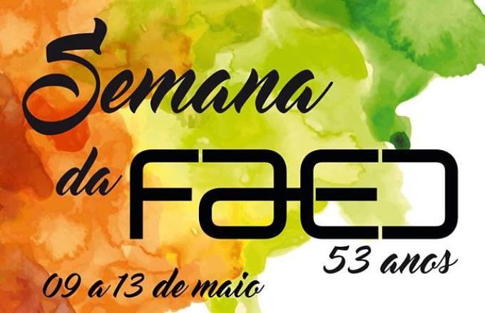 Semana da Faed marca os 53 anos de fundação do centro mais antigo da Udesc