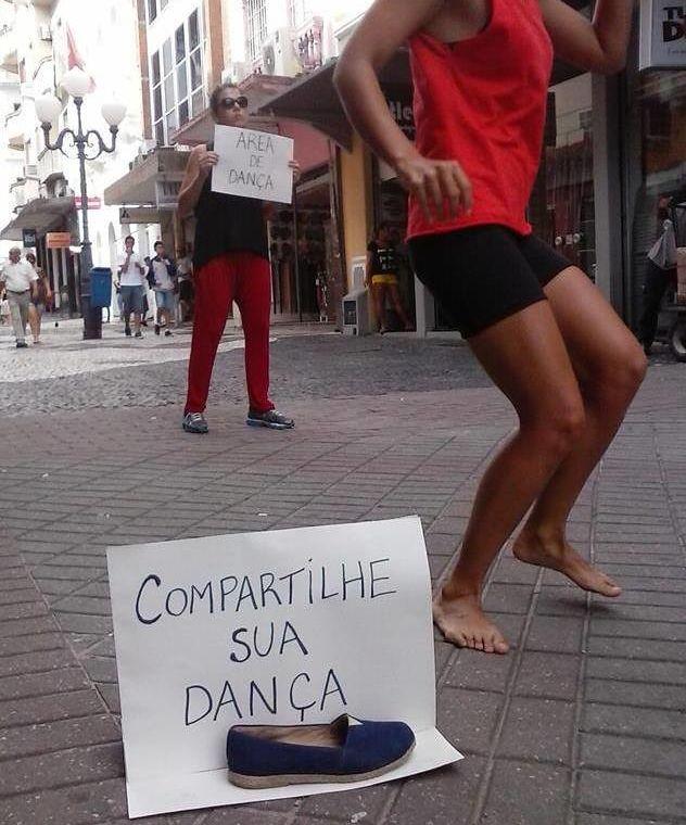Área própria para dança - Dia Mundial da Dança