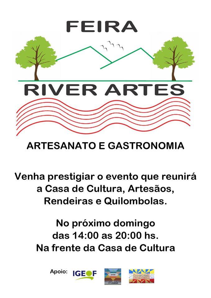 1ª Feira de Artesanato e Gastronomia na Casa de Cultura Rio Vermelho