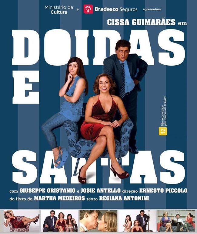 """Comédia romântica """"Doidas e Santas"""""""