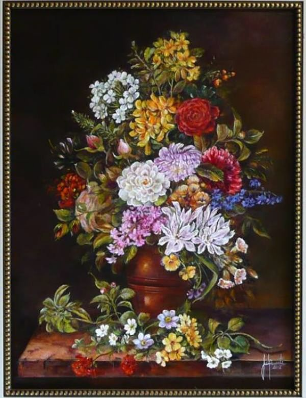 """Exposição """"Flores"""", por Jussara Duarte"""