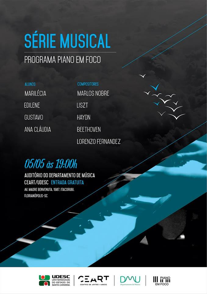 2º Recital de Alunos do projeto Série Musical - Piano Em Foco