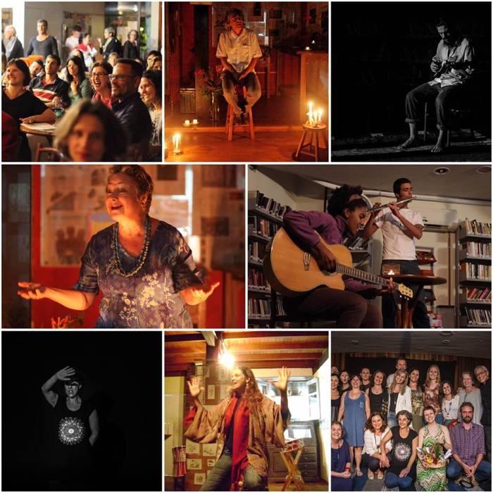Sarau de Amor e de Letras com narração de histórias e música na Barca dos Livros