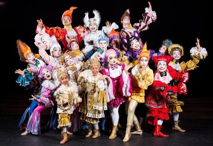 """Grupo de arte circense apresenta espetáculo """"Tholl, Imagem e Sonho"""""""